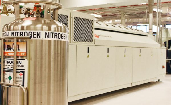 QMS Installs New Nitrogen Purge SMT Reflow Oven Capability