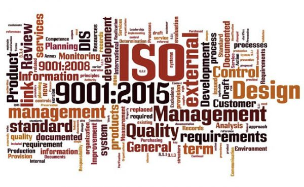 QMS Industry Certified to ISO-9001:2015 Standard