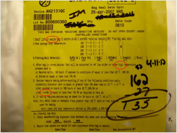 Figure 1. Environmental Handling Label Spelling Errors