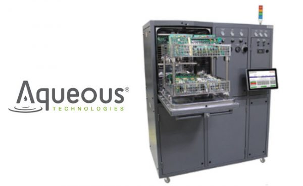 New Trident Automatic Cleaning Defluxing System by Aqueous Technologies